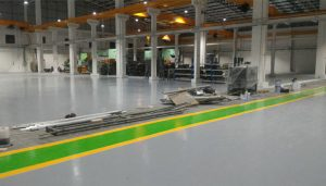เมื่อโรงงานอุตสาหกรรมและอู่ซ่อมรถยนต์ต้องการเคลือบสีทาพื้น Epoxy